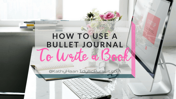 How To Make A Book Journal : How to use your bullet journal help you write a book
